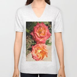 Faces to the Sun Unisex V-Neck