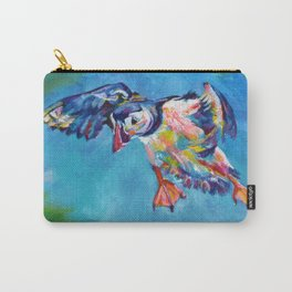 Flying puffin Carry-All Pouch