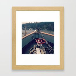 Welcome to Elsewhere Framed Art Print