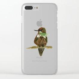 Festive Coquette Clear iPhone Case
