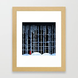 Little Red Riding-hood Framed Art Print