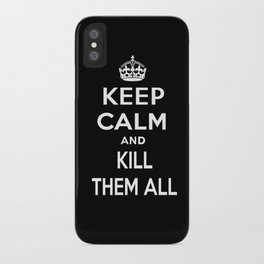 Keep Calm iPhone Case