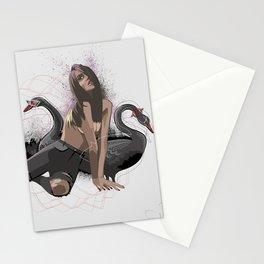 Black swan Stationery Cards