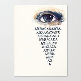 ABRACADABRA Canvas Print