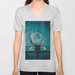 basketball hoop 6 Unisex V-Neck