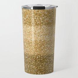 Glitter Glittery Copper Bronze Gold Travel Mug