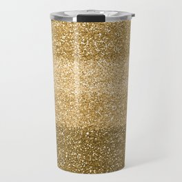 Glitter Glittery Copper Bronze Gold Travel Mug
