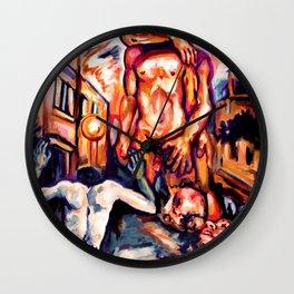Verb incarnation Wall Clock