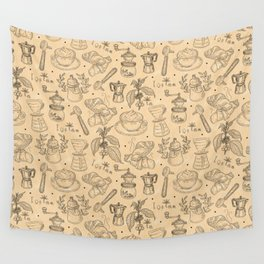 COFFEE SHOP Wall Tapestry