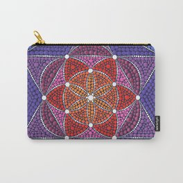 Creation Mandala Carry-All Pouch
