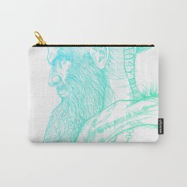 Floki Electric fade style Carry-All Pouch