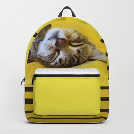 Cat Plop Backpack
