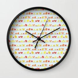 Some Little Birds Wall Clock
