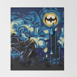 Starry Knight iPhone 4 4s 5 5c 6, pillow case, mugs and tshirt Throw Blanket