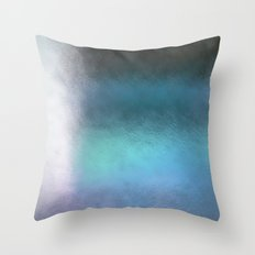 Abstract Square - blue Throw Pillow