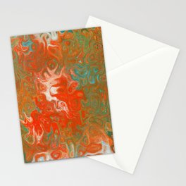 As Luck Would Have It, Abstract Art Stationery Cards
