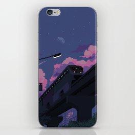 Moonrise twilight iPhone Skin