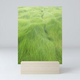 Green Waves Mini Art Print
