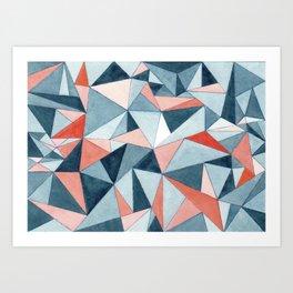 #07. CAROLE Art Print