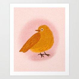 Whimsical Wren Art Print