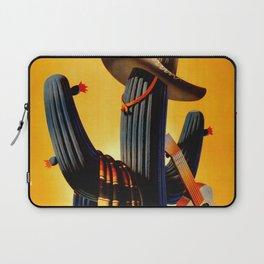 Vintage Mexico Cactus Travel Laptop Sleeve