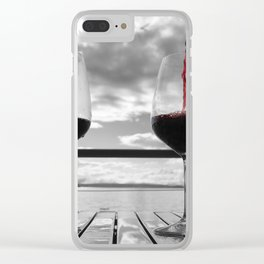 Wine Enthusiast Clear iPhone Case