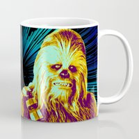 chewbacca Mugs featuring Chewbacca by victorygarlic - Niki