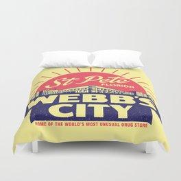 Webb's City Duvet Cover