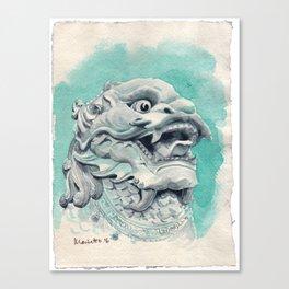 Chinese Auspicious Beast QíLín Canvas Print