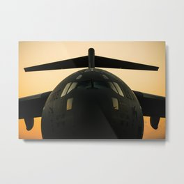 American Military Aircraft Metal Print