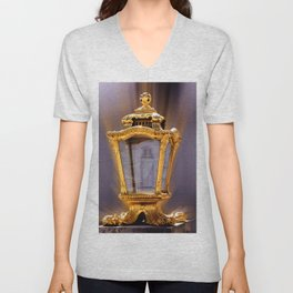 Castle Nympfenburg Munich : The golden Lantern Unisex V-Neck