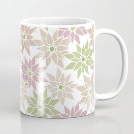 Poinsettia Christmas Coffee Mug