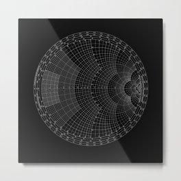 Smith Chart Metal Print