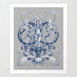 Queen of Trust Art Print
