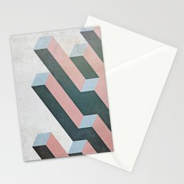 Linear Geometry Stationery Cards