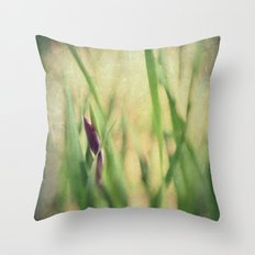 Getting ready to Rise and Shine Throw Pillow