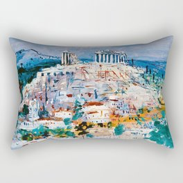 Jean Dufy, Athens Rectangular Pillow