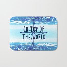 On Top of The World Bath Mat