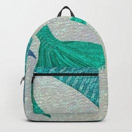 Glistening Mermaid Tails Backpack