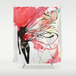 LACK OF TOUCH Shower Curtain