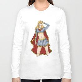 Supergirl Long Sleeve T-shirt