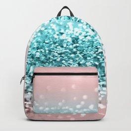 Tropical Summer Vibes Glitter #1 #decor #art #society6 Backpack