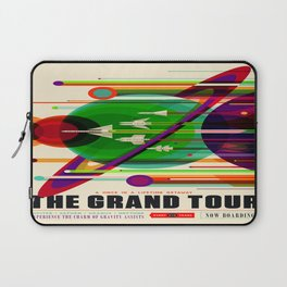 Vintage poster - The Grand Tour Laptop Sleeve