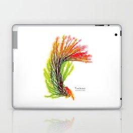 Tillandsia Funckiana Air Plant Watercolors Laptop & iPad Skin