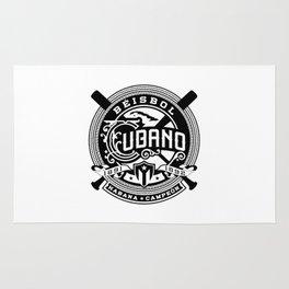 Béisbol Cubano Rug