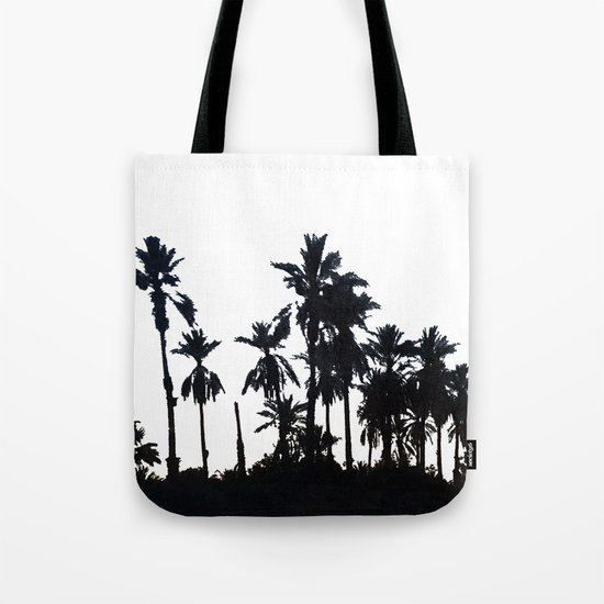 Date Palm Trees 3 Tote Bag