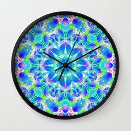 Floral Fractal Art G542 Wall Clock