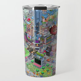 Videogame City V2.0 Travel Mug