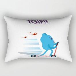 Blueman - TGIF! Rectangular Pillow