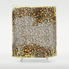 Hideout in the mountains 2 Shower Curtain